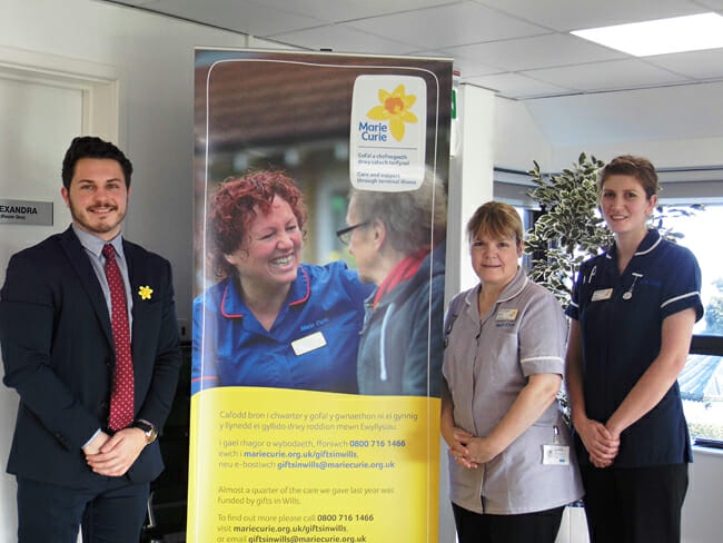 Marie Curie Free Will Service